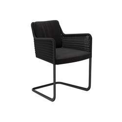D43 Cantilever chair with armrests | Sillas de visita | TECTA