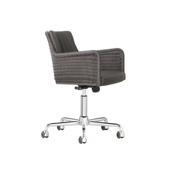 D43R Task chair with rolls | Chairs | TECTA