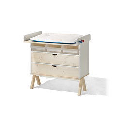 Famille Garage baby changing table | Tables à langer | Lampert