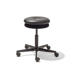 Mr. Round swivel stool | Sgabelli girevoli | Richard Lampert