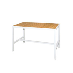 Allux bar table 150x80 cm (straight slats) | Garten-Bartische | Mamagreen