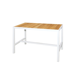 Allux bar table 150x80 cm (abstract slats) | Garten-Bartische | Mamagreen