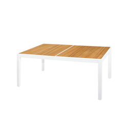 Allux dining table 160x100 cm (abstract slats) | Dining tables | Mamagreen