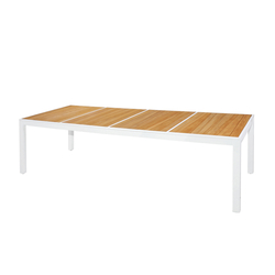 Allux dining table 270x100 cm (abstract slats) | Tables à manger de jardin | Mamagreen