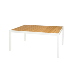 Allux dining table 160x100 cm (straight slats) | Tables à manger de jardin | Mamagreen