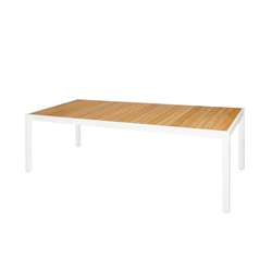 Allux dining table 220x100 cm (straight slats) | Tables à manger de jardin | Mamagreen