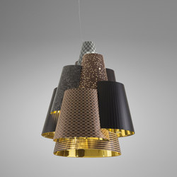 Melting Pot SP 120 dark patterns with gold inside | General lighting | Axolight