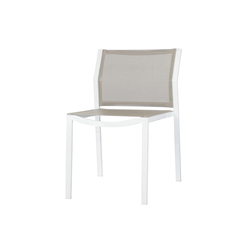 Allux dining stackable side chair | Garden chairs | Mamagreen