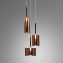 Spillray SP 3 bronze | Suspended lights | Axolight