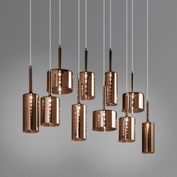 Spillray SP 10 bronze | Suspended lights | Axolight