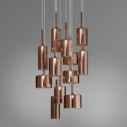 Spillray SP 12 bronze | Suspended lights | Axolight