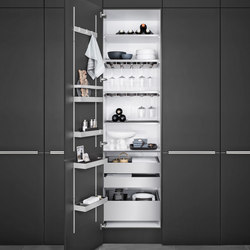 Interior | MultiMatic Aluminium | Kitchen organization | SieMatic