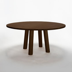 Column Table Round | Mesas para restaurantes | Fort Standard