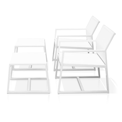 Allux armchair with footrest | Garden armchairs | Mamagreen