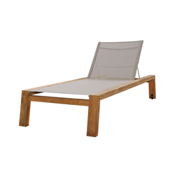 Avalon lounger with wheels | Sdraio da giardino | Mamagreen