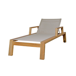 Avalon lounger with armrest | Méridiennes de jardin | Mamagreen