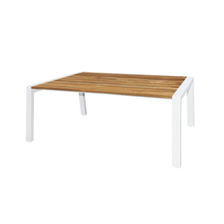 Baia dining table 180x100 cm (wood - post leg) | Dining tables | Mamagreen
