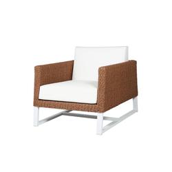 Baia sofa 1-seater (woven) | Garden armchairs | Mamagreen