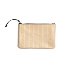 Pearl Crosshatch Leather Clutch - 11x7.5 | Borse | AVO