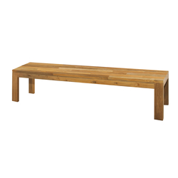 Eden bench 210 cm (random laminated top) | Garden benches | Mamagreen