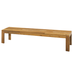 Eden bench 260 cm (random laminated top) | Garden benches | Mamagreen