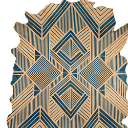 Blue Diamond Rug - Full Hide | Rugs | AVO