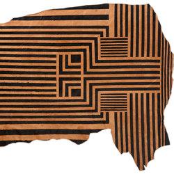 Black Lines  Rug - Half Hide | Rugs / Designer rugs | AVO