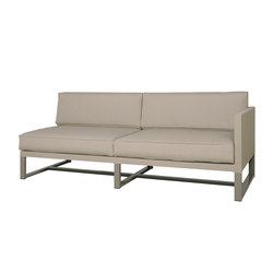 Mono left hand sectional | Gartensofas | Mamagreen
