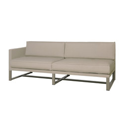 Mono right hand sectional | Gartensofas | Mamagreen