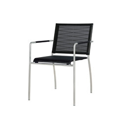 Natun dining stackable armchair | Garden chairs | Mamagreen