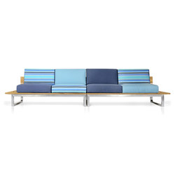 Oko Lounge Combination 1 (no bolster) | Garden sofas | Mamagreen