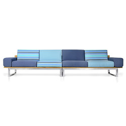 Oko Lounge Combination 1 (with bolster) | Gartensofas | Mamagreen