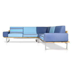 Oko Lounge Combination 2 (with bolster) | Gartensofas | Mamagreen
