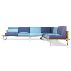 Oko Lounge Combination 3 (no bolster) | Gartensofas | Mamagreen