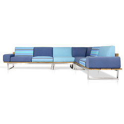 Oko Lounge Combination 3 (with bolster) | Gartensofas | Mamagreen