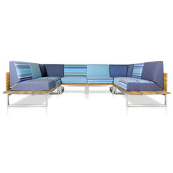 Oko Lounge Combination 4 (no bolster) | Garden sofas | Mamagreen