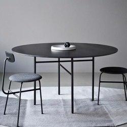 Snaregade Table, round | Meeting room tables | Menu