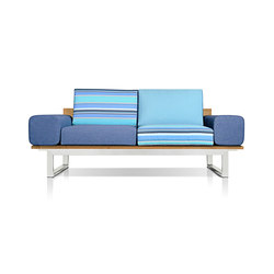 Oko Lounge 2-seater (with bolster) | Garden sofas | Mamagreen