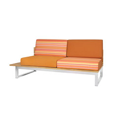Oko Lounge right sectional seat | Garden sofas | Mamagreen
