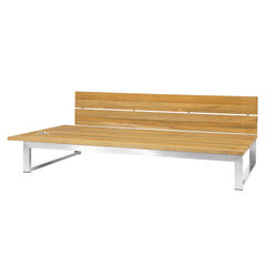 Oko Lounge right sectional seat | Garden benches | Mamagreen