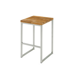 Oko high stool (random laminated top) | Garten-Barhocker | Mamagreen