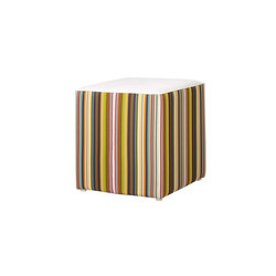 Stripe stool vertical | Poufs | Mamagreen