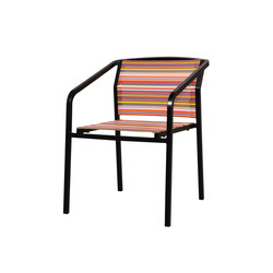 Stripe bistro chair | Sillas de jardín | Mamagreen