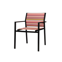 Stripe dining stackable armchair | Sillas de jardín | Mamagreen