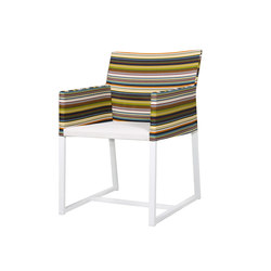 Stripe dining chair (horizontal-leisuretex seat) | Garden chairs | Mamagreen