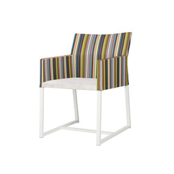 Stripe dining chair (vertical-leisuretex seat) | Garden chairs | Mamagreen