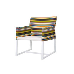 Stripe casual chair (horizontal-leisuretex seat) | Armchairs | Mamagreen