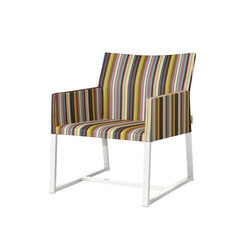 Stripe casual chair (vertical) | Garden armchairs | Mamagreen