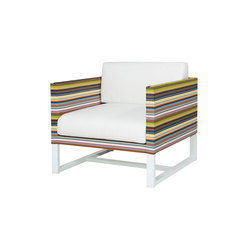 Stripe sofa 1-seater | Armchairs | Mamagreen
