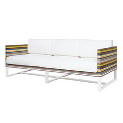 Stripe sofa 3-seater | Sofás de jardín | Mamagreen